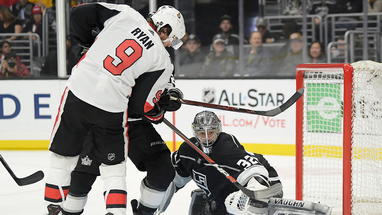 Tierney And Sens Make Quick Work Of Kings