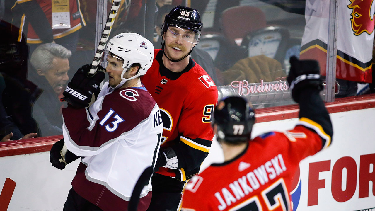 Flames Stay Hot, As The Avs' Continue To Slide Downhill