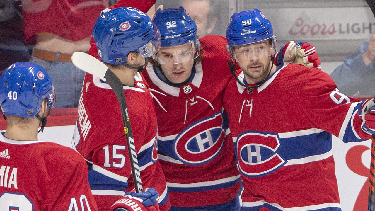Jonathan Hockey?? Drouin Propels High Flying Canadiens Past Jets