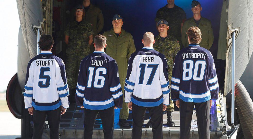 050a496410c Eric Fehr reflects on the year he and his Jets went home to Manitoba ...