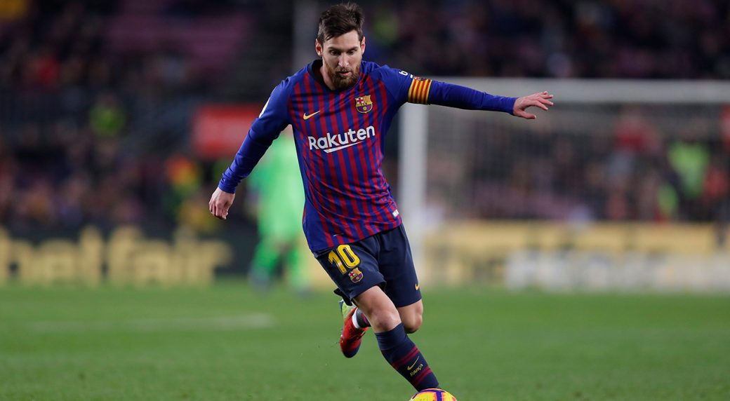 133f77ca1 Lionel Messi skips Barcelona practice with injury