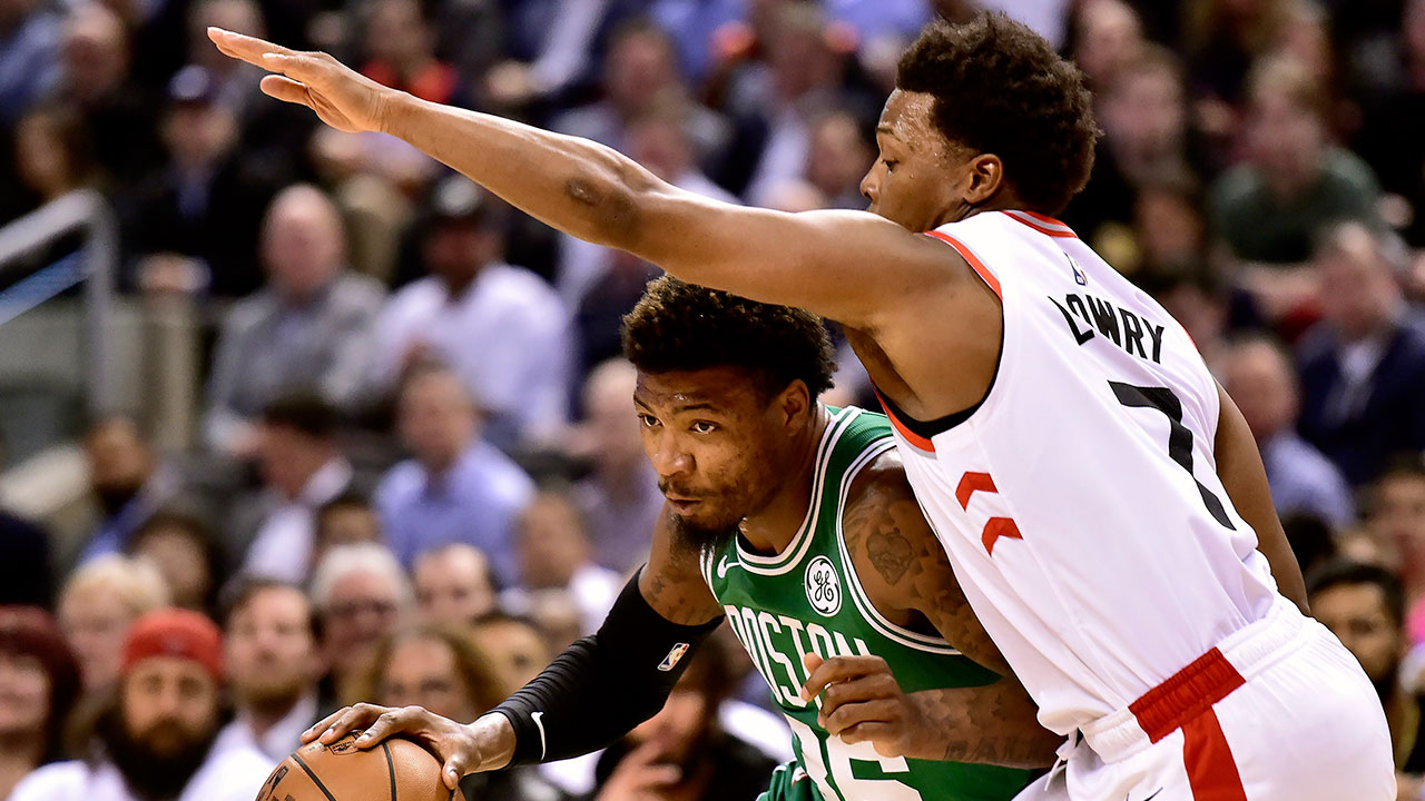 8abafab74 Kyle Lowry shows us why he s the engine that runs the Raptors  machine -  Sportsnet.ca