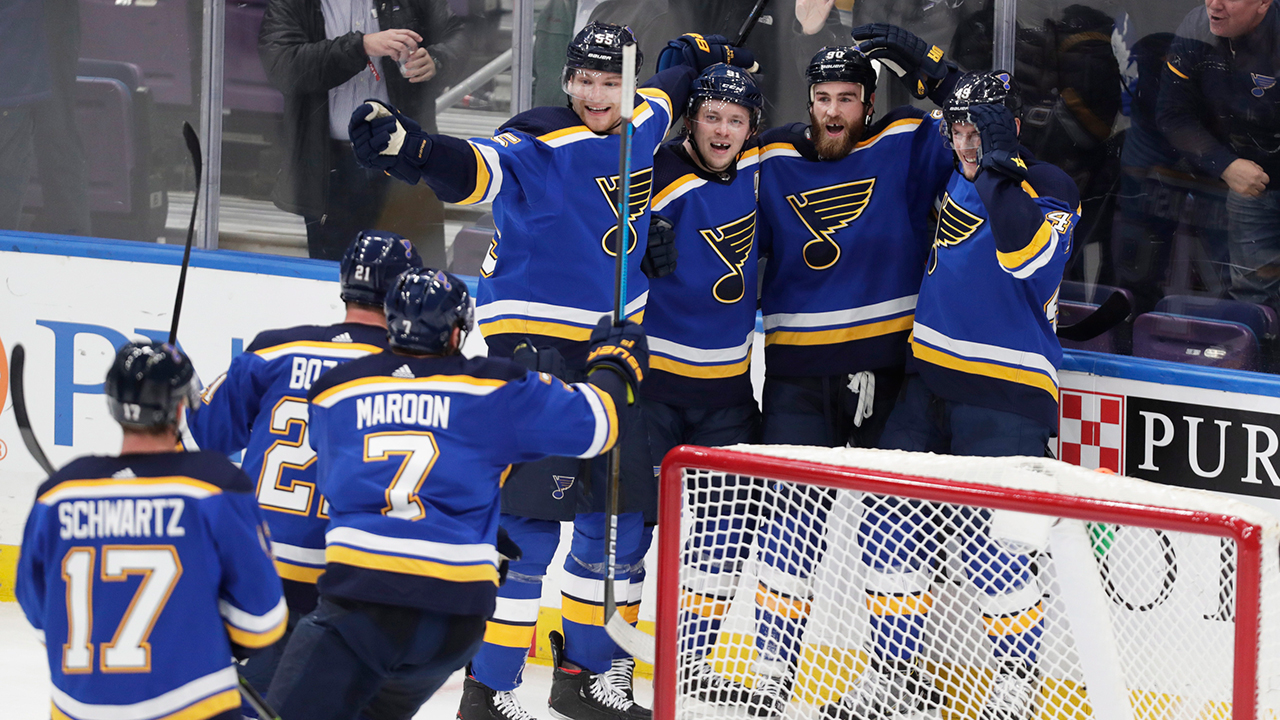 Behind Blue Eyes. O'Reilly Helps St. Louis Set Franchise Record With 11th Straight Win