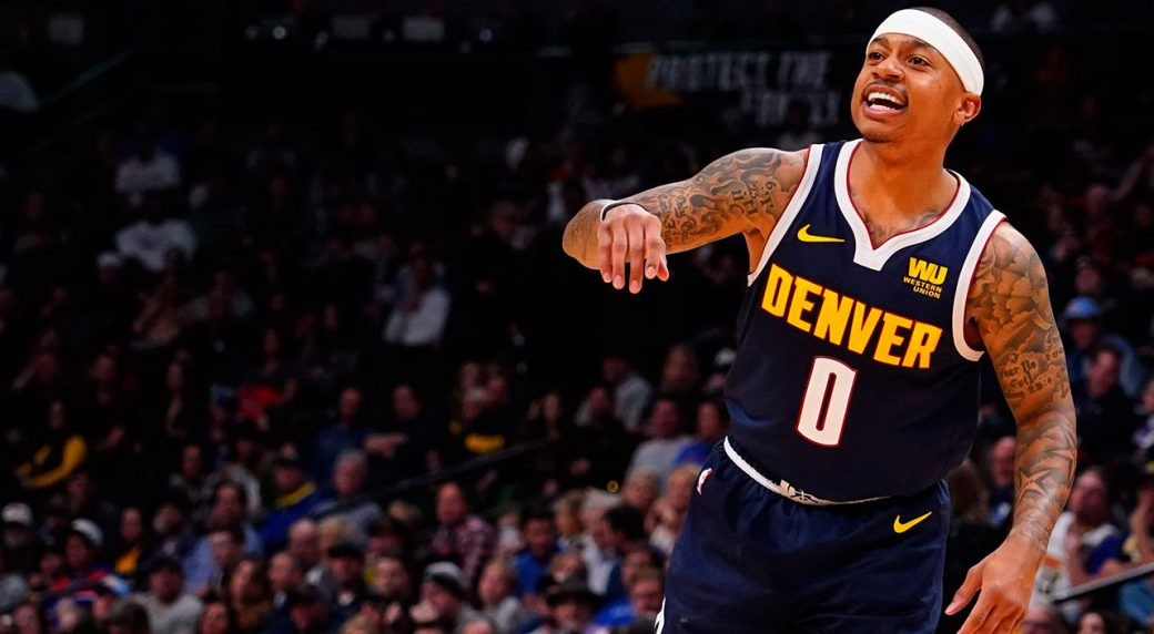 8e46c6932 Thomas ready for any role as Nuggets make playoff push - Sportsnet.ca