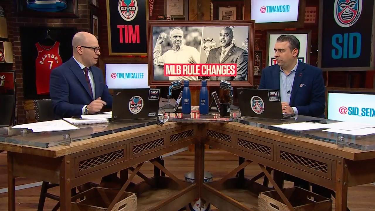 Tim and Sid question some of the new MLB rule changes