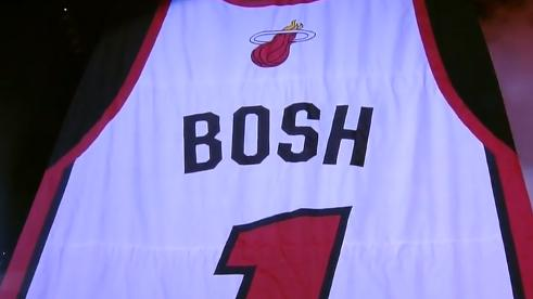 9eb0e7a5343 Miami Heat honour Chris Bosh with jersey retirement ceremony - Sportsnet.ca