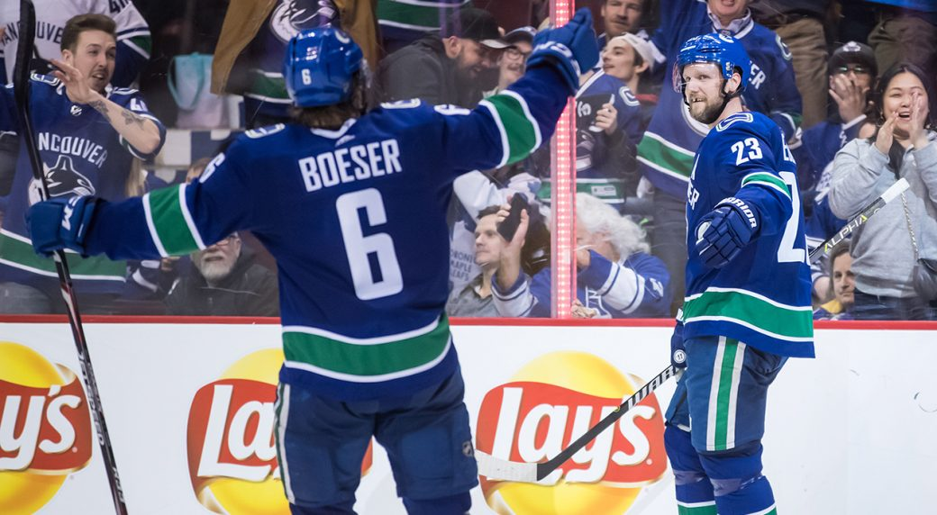 5fd541206ea Edler s value to Canucks made evident in win over Maple Leafs. Vancouver ...