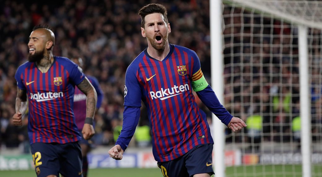 Lionel Messi Completes Magnificent Hat Trick in Win Over Real Betis