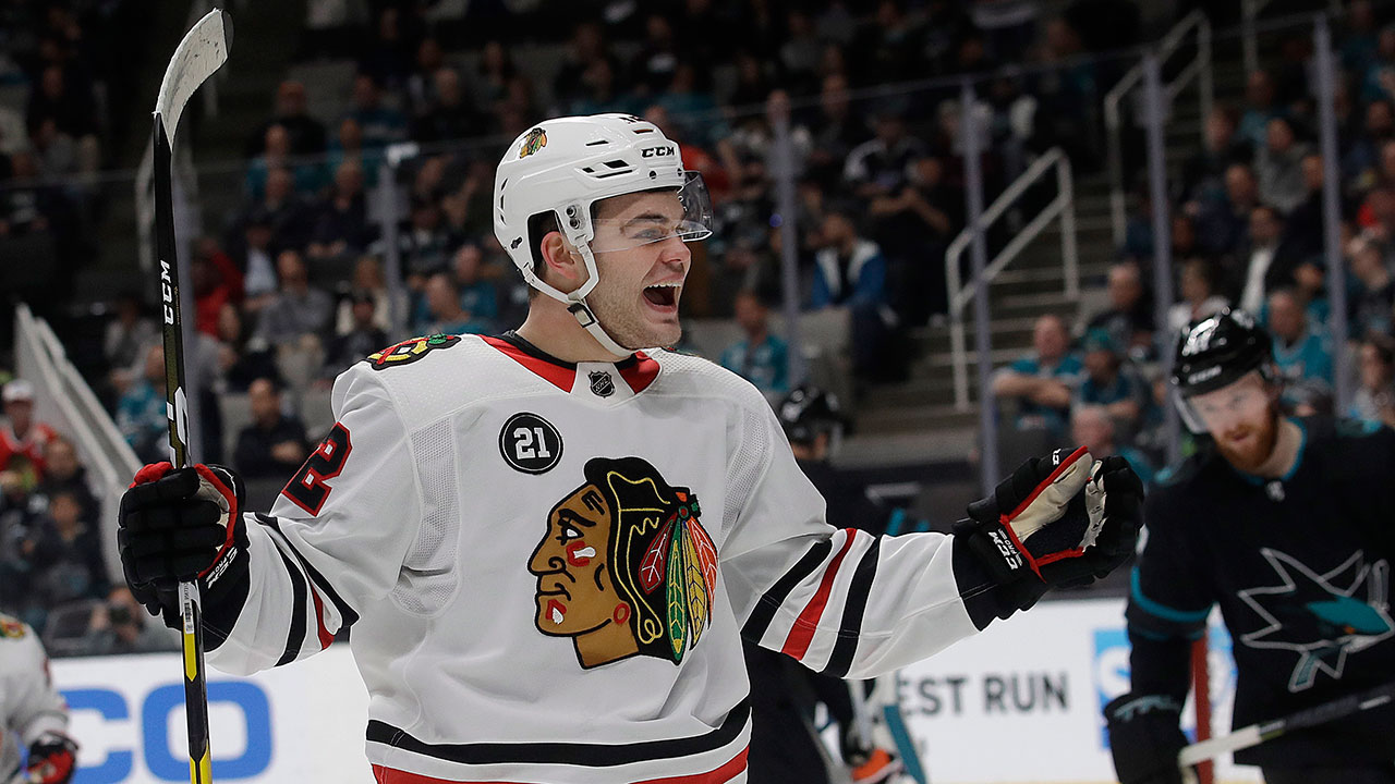 The Year Of The 'Cat. Chicago's Sophomore Nets His 40th Goal Of The Season