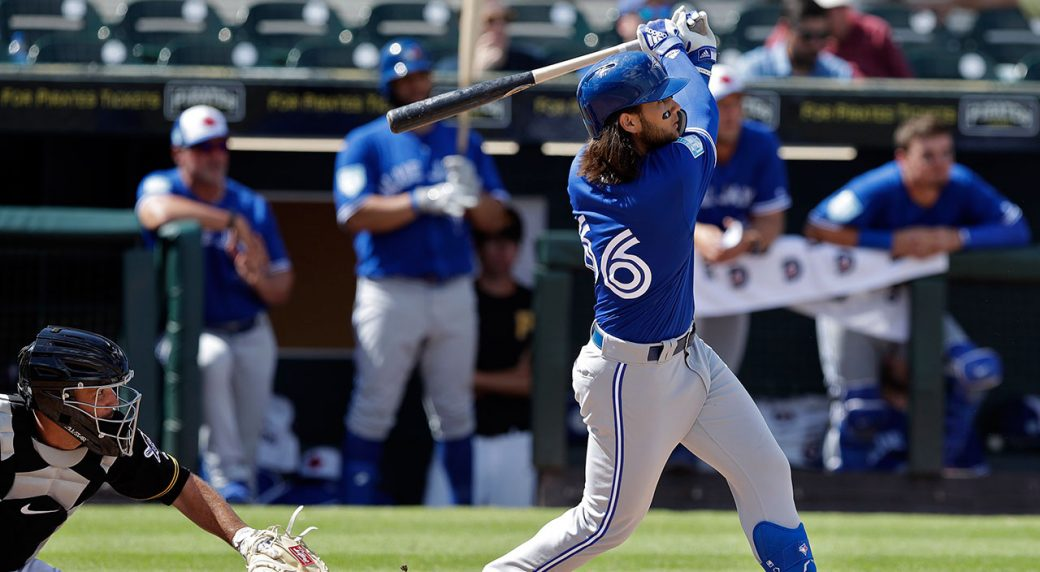 80277f1da Spring training observations  Blue Jays  Bichette looks like he belongs