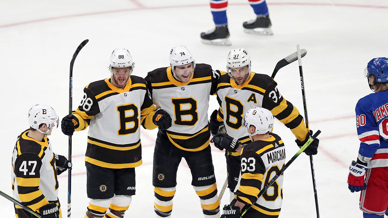 The Guy's All Thumbs. Pastrnak Puts Up A Five Point Night On The Road To Recovery