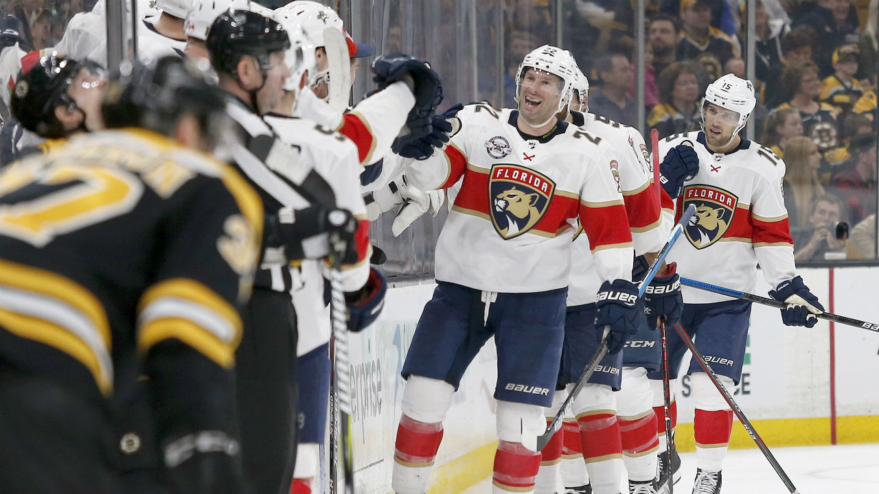 End Of The Line. Bruins' Winning Streak Derailed By No-Playoff Panthers
