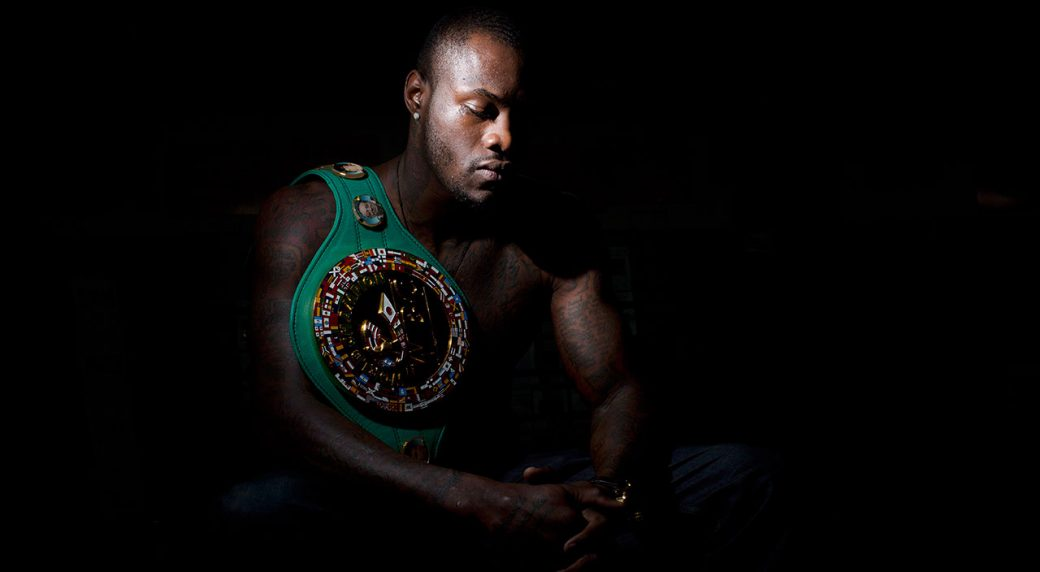 Deontay Wilder Talking Trash Ready For Dominic Breazeale At