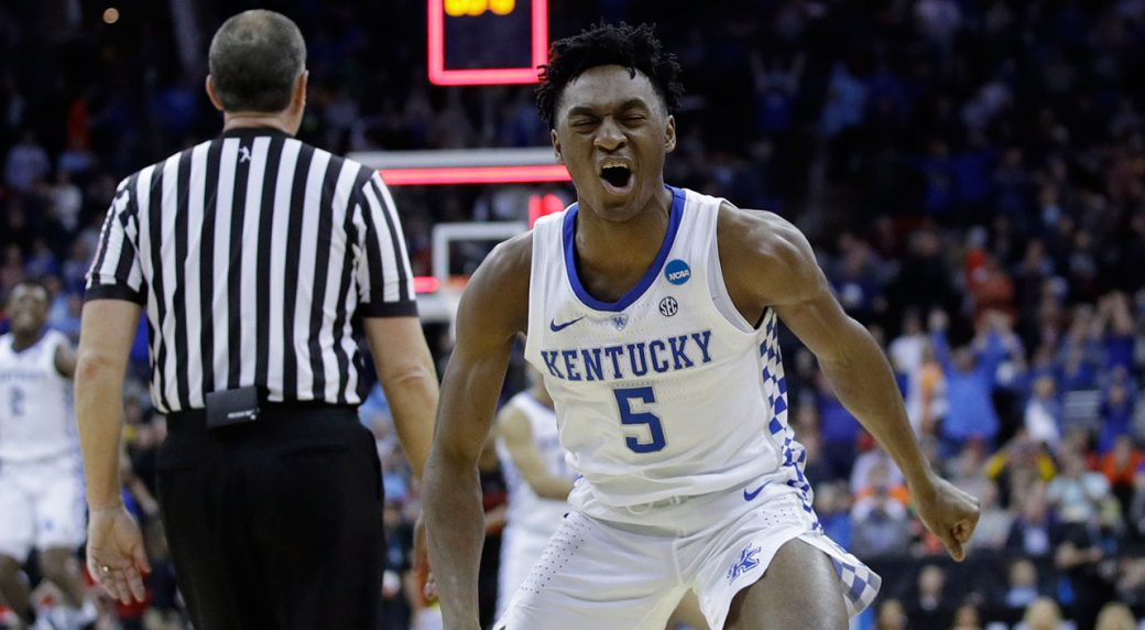 Kentucky outlasts Houston, 62-58 to reach Elite Eight