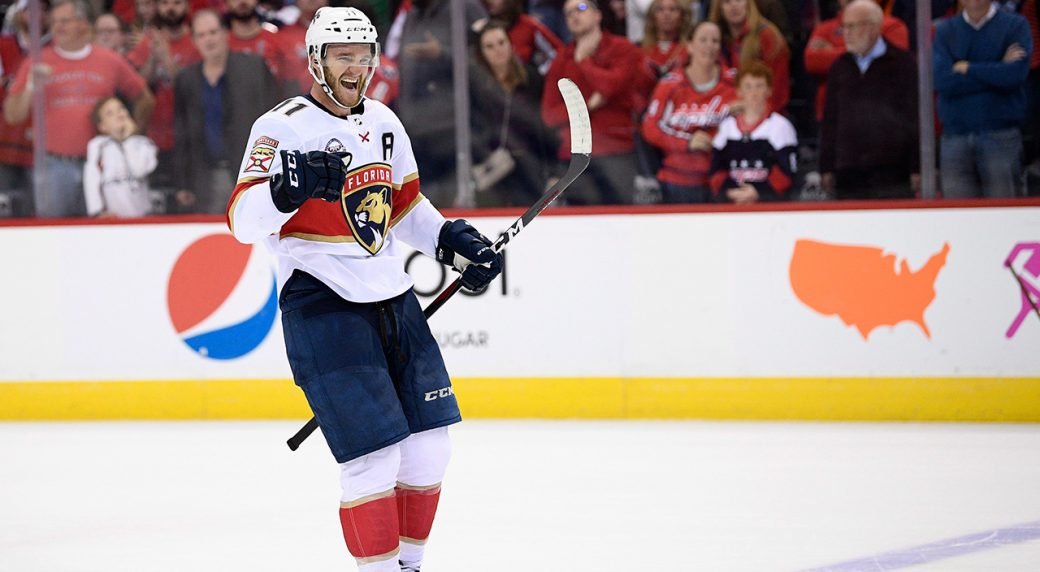 bc4c96e75 Panthers  Jonathan Huberdeau named NHL s first star of the week ...