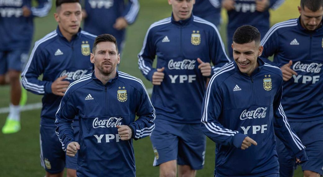 Messi, Dybala model new Argentina kit for 2019 Copa America