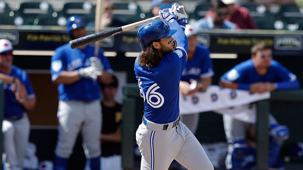 1e13e567d Bo Bichette powers Blue Jays past Twins in spring training ...