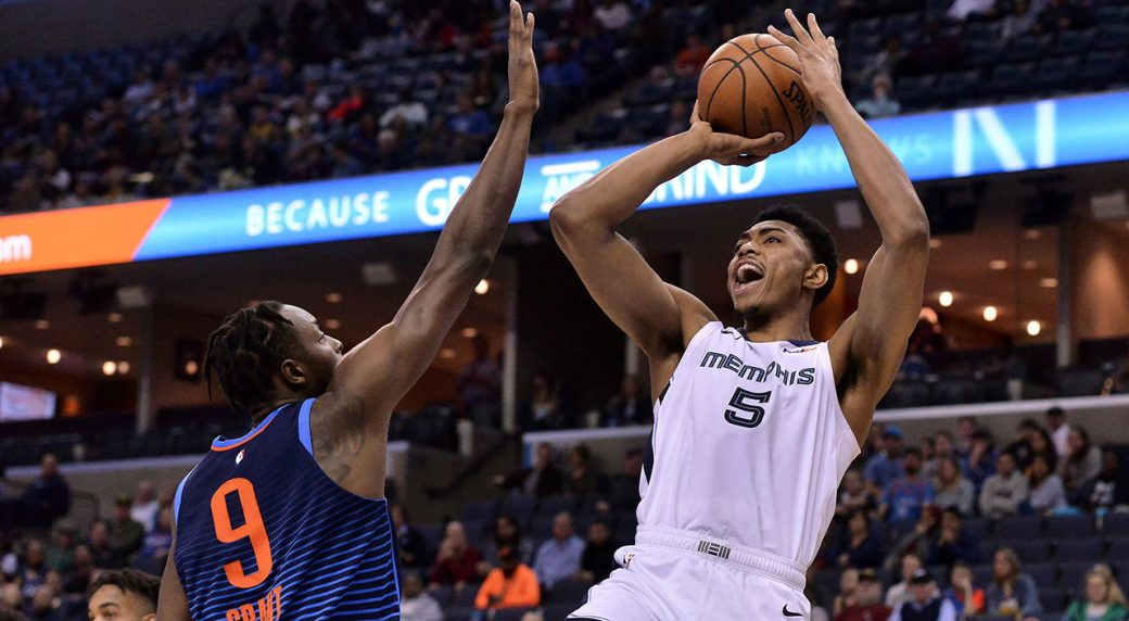 Bruno Caboclo's career-high 24 points lead Grizzlies past Thunder