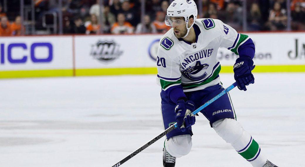 Vancouver Canucks centre Brandon Sutter undergoing surgery for sports hernia