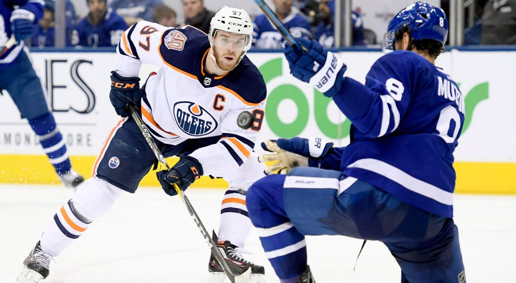 Edmonton Oilers late rally falls short in loss to Toronto Maple Leafs