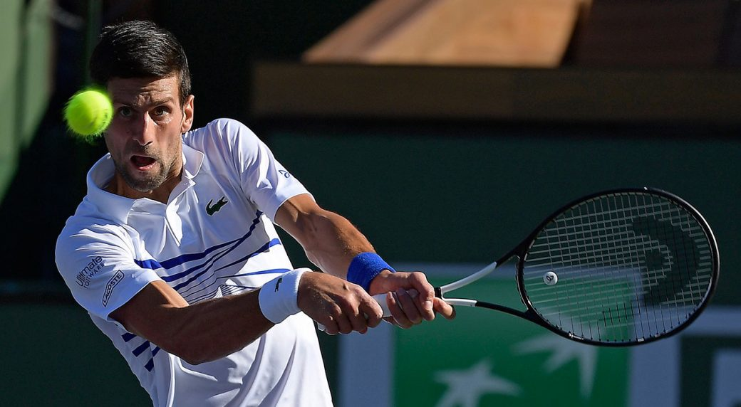 Djokovic, Nishikori, Halep ousted at Indian Wells