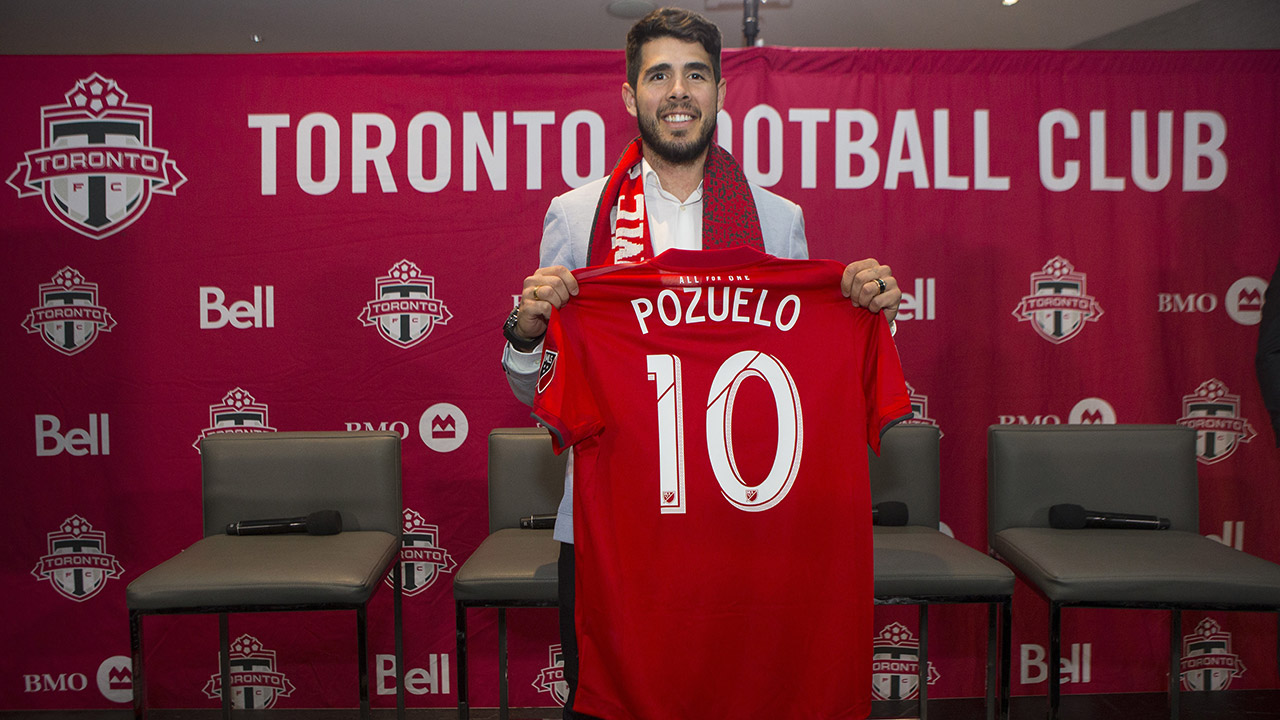 Toronto FC expecting Alejandro Pozuelo to become cornerstone of team