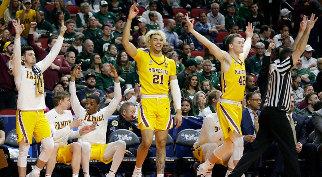 U of M, MSU battle for NCAA Sweet 16