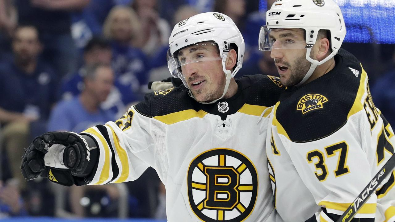 100 Ways To Chirp. Marchand Becomes The First Bruin in 16 Years To Reach 100 Points