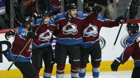 f8b7284ced1 Rantanen scores in OT to lift Avalanche over Flames in Game 4