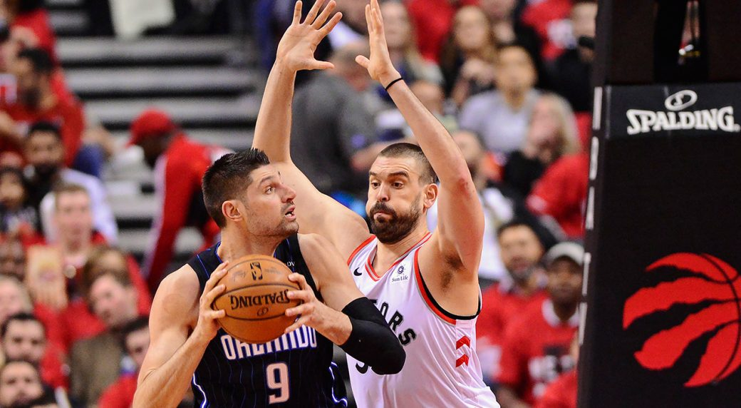 Gasol glad to be part of Raptors' playoff run