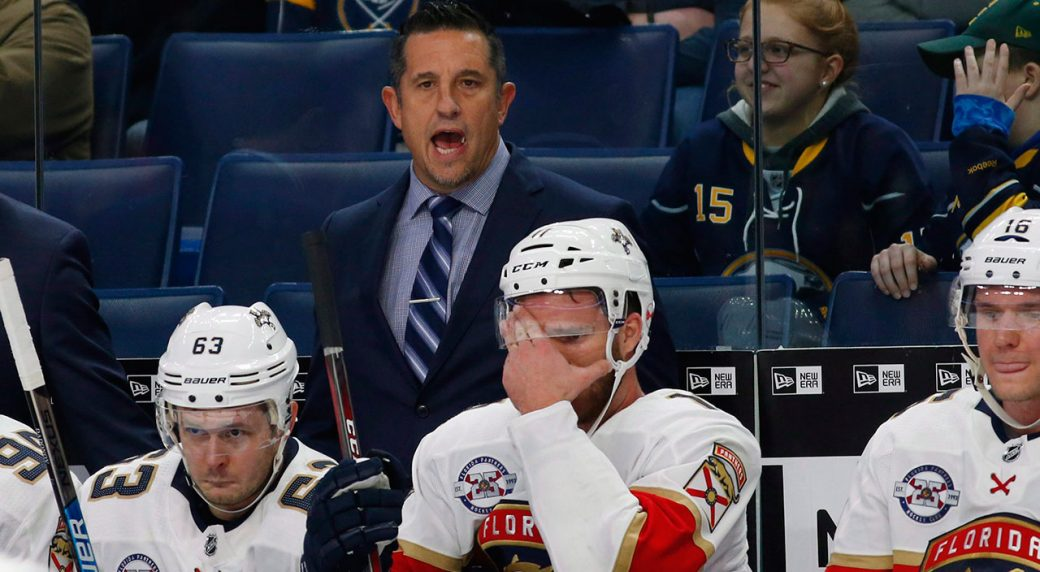 Panthers fire Bob Boughner, move quickly to hire Joel Quenneville