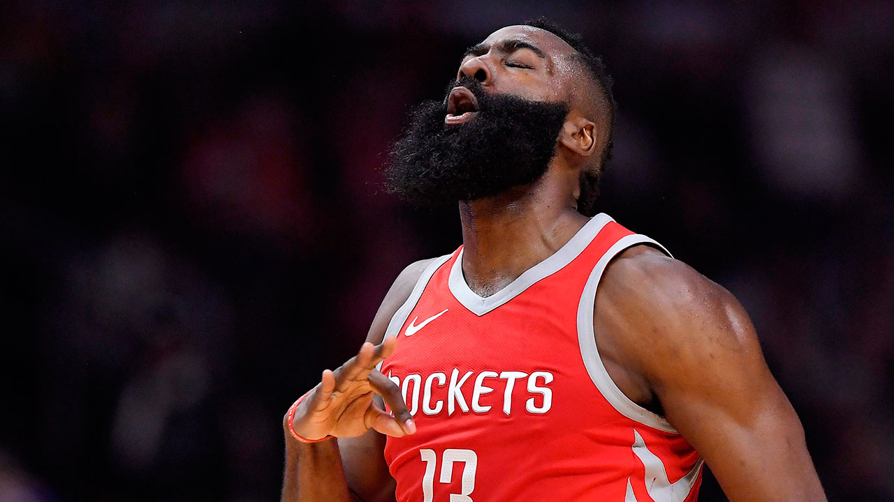 42b6a822e05a James Harden scores 29 as Rockets rout Jazz in Game 1 - Sportsnet.ca