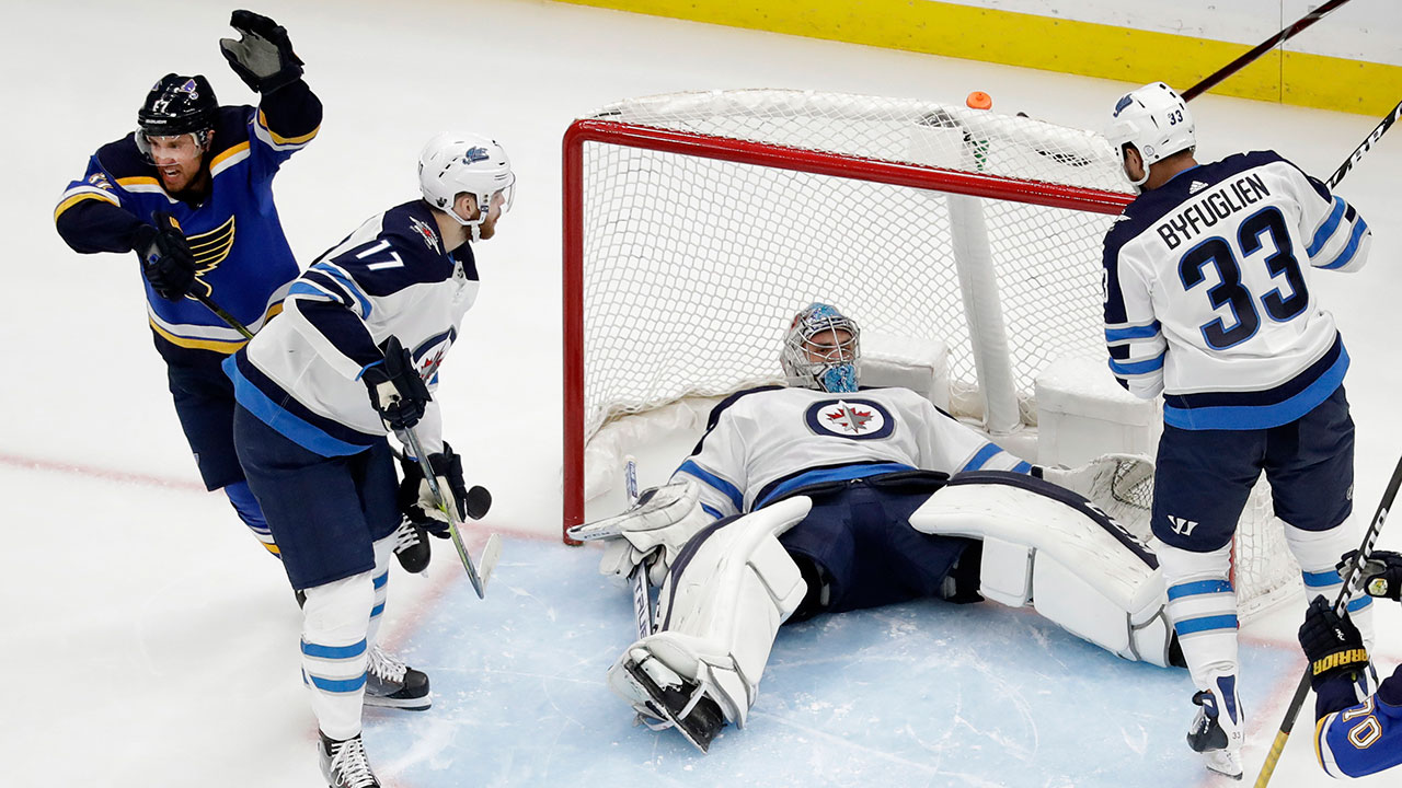 Blue bye-you. The Jets are eliminated as St. Louis continues to impress
