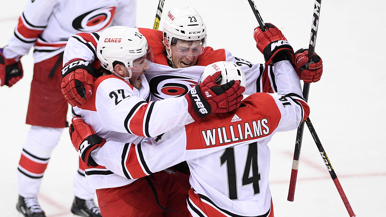Oh Carolina! Hurricanes oust the Caps in Game 7, and book a date with New York.