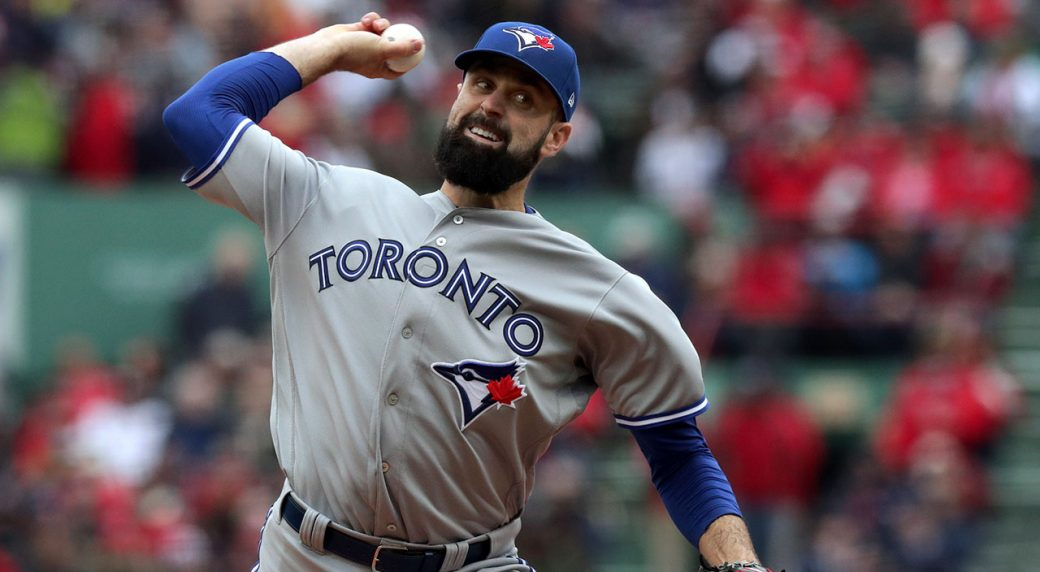 MLB-Blue-Jays-Shoemaker-throws-against-Red-Sox
