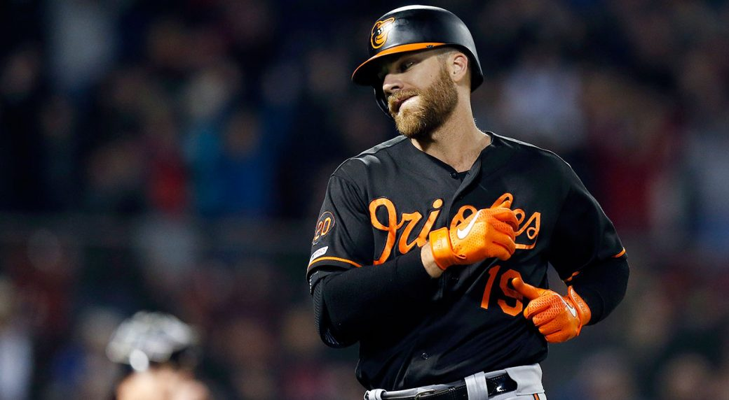 Chris Davis Snaps Hitless Streak With Two-Run Single Against Red Sox