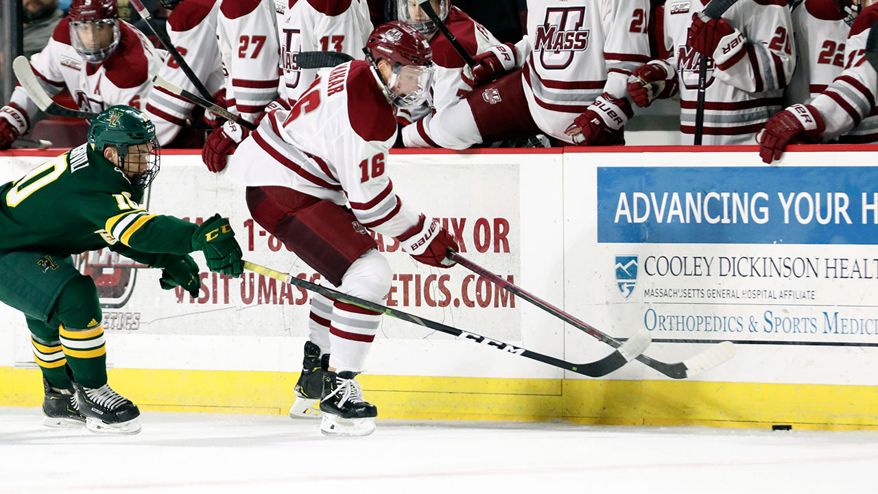 UMassTerfull Performance. Minutemen's Makar Takes The Hobey Baker