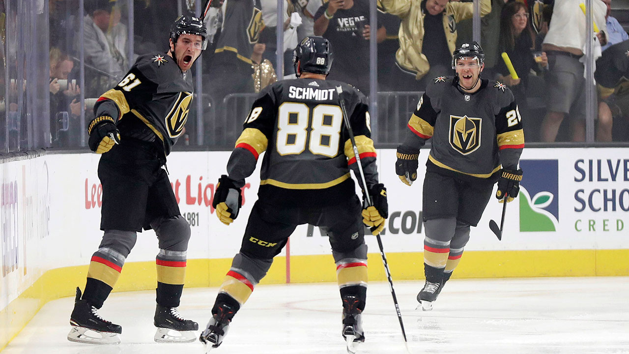Heart Of Stone. Forward's First Ever Hat Trick Helps Vegas Takes A 2-1 Series Lead