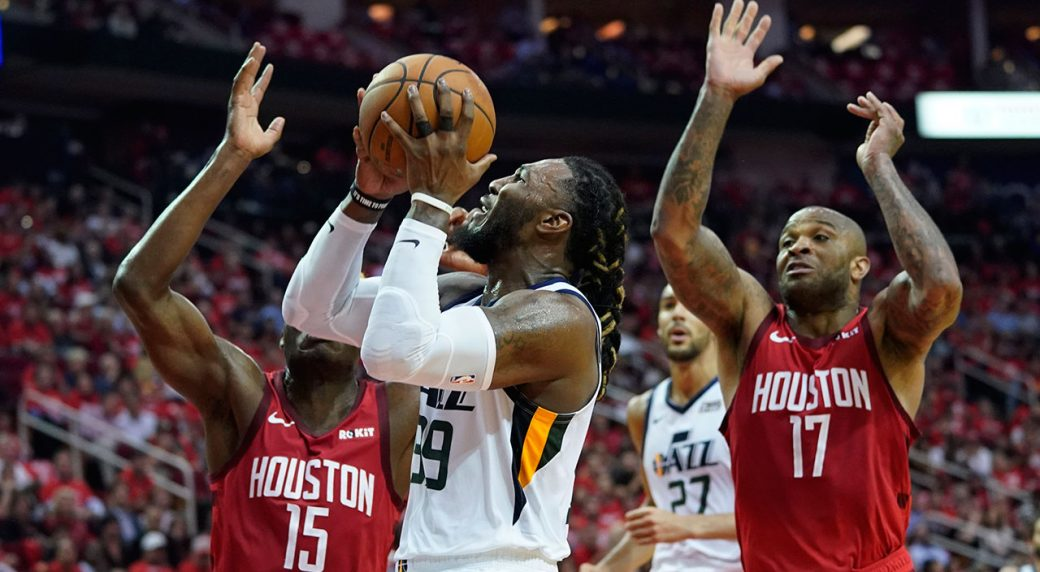 Harden leads Rockets past Jazz