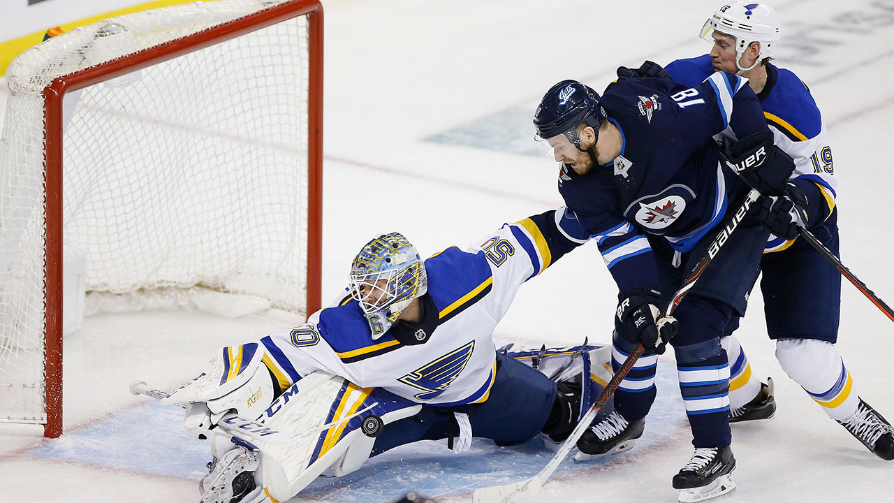 No So White Out. Blues Take Both Games In The 'Peg To Grab 2-0 Series Lead