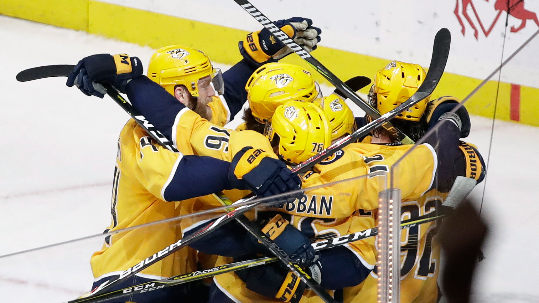 Never-Say-Die Attitude Keeps Predators In The Hunt For Central Division Title