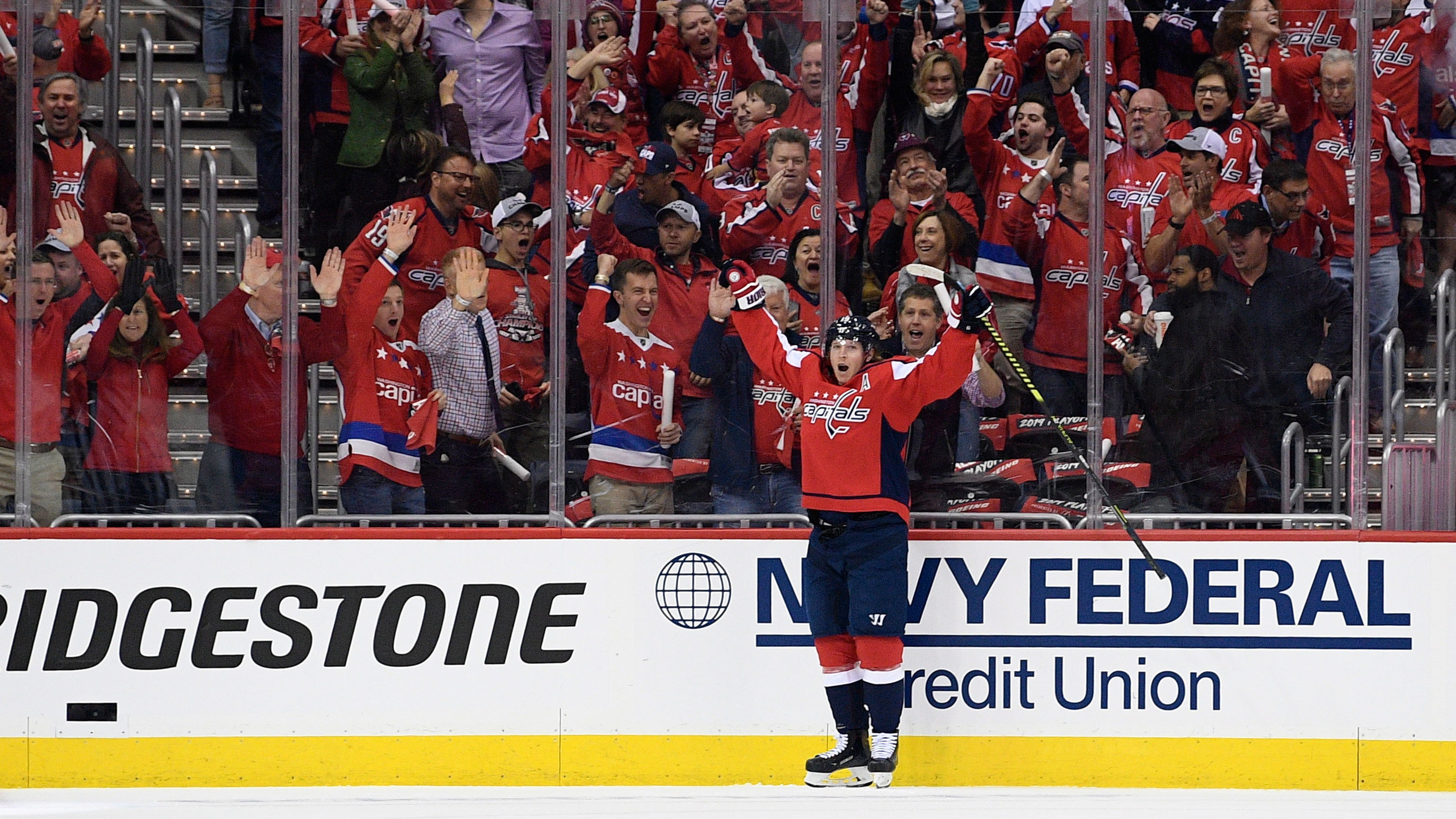 Start Fast, Finish Strong. Veteran Experience Pays Off For Caps In Game One