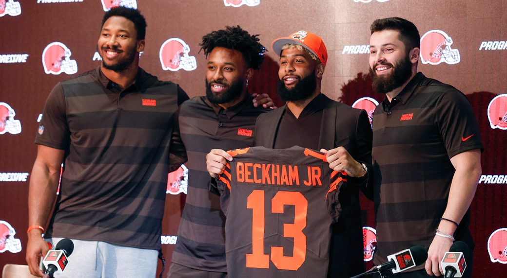 65ba5fb8b Odell Beckham Jr. wants to turn Browns into  the new Patriots ...