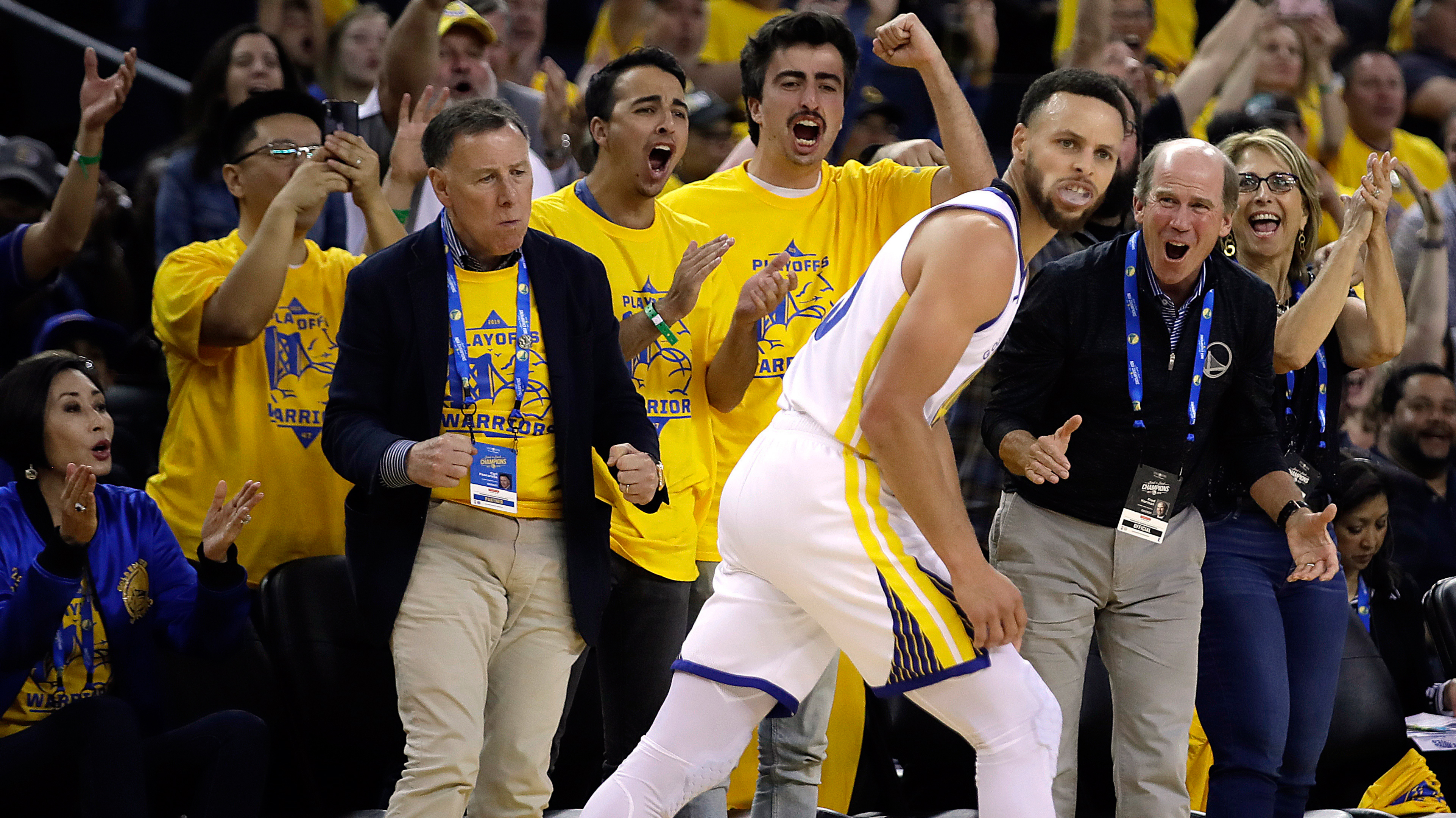 de18bf77669 Curry sets playoff three-point record as Warriors beat Clippers ...