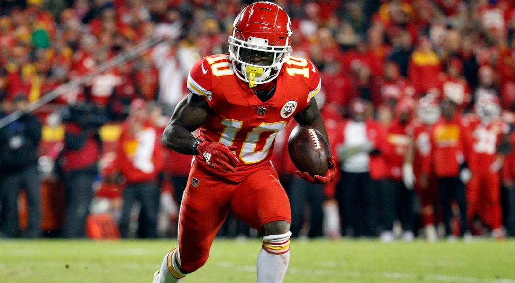 Tyreek Hill will not face charges, but could face National Football League penalty