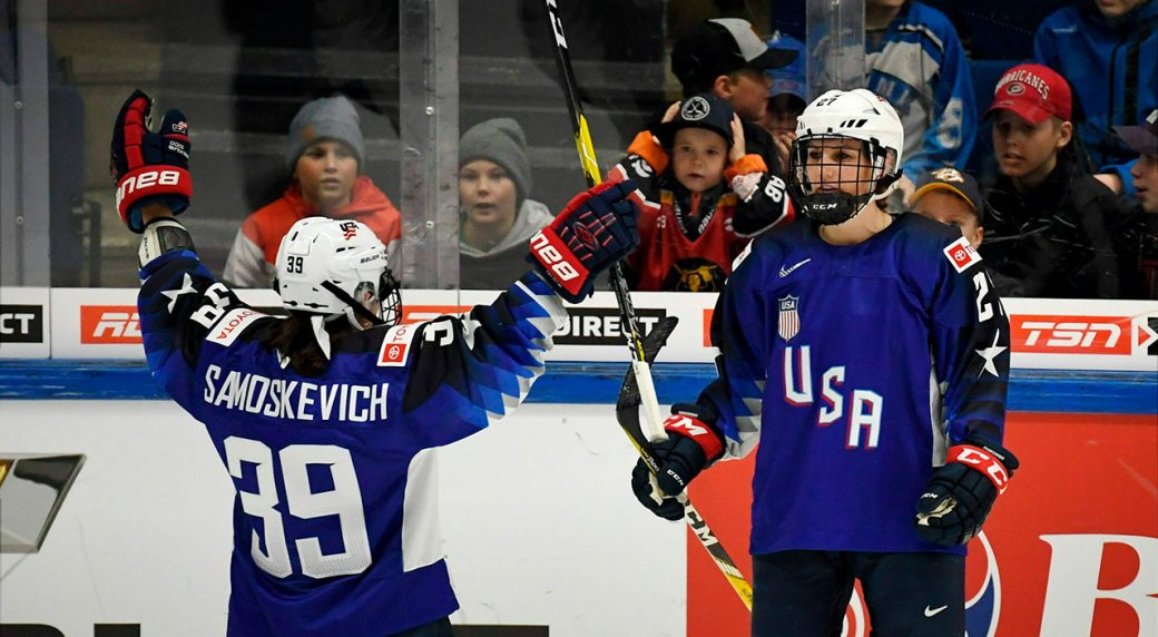 2019 iihf world hockey championship standings
