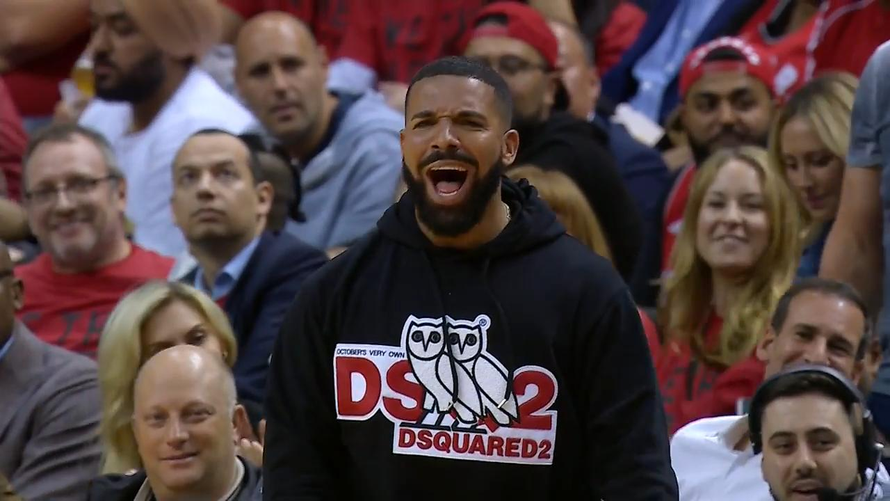 Too much Drake at Raptors game, or not enough?