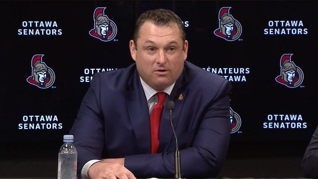Is D.J. Smith the right head coach for the Senators?