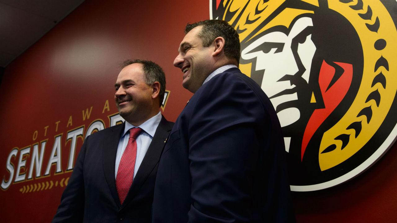Senators organization needs stability & calmness more than anything