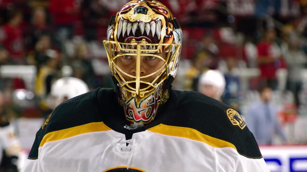 Behind the mask with Tuukka Rask...